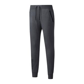 Pantalón de chándal mujer HERITAGE RIB grey melange