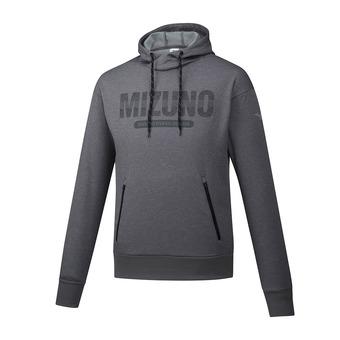 Mizuno HERITAGE - Felpa Uomo grey melange