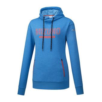 Mizuno HERITAGE - Sweatshirt - Women's - bright blue