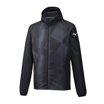 Mizuno PRINTED - Jacket - Men's - black