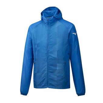 Printed Hoody Jacket Homme Brilliant Blue