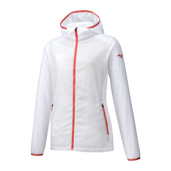 Mizuno PRINTED - Jacket - Women's - white