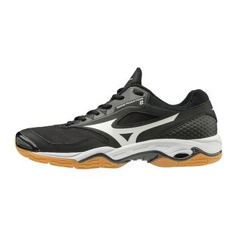 Chaussures handball homme WAVE PHANTOM 2 black/white/dark shadow