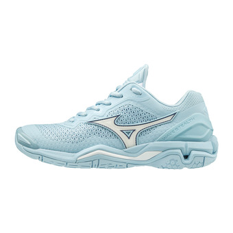 Chaussures handball femme WAVE STEALTH V cool blue/white