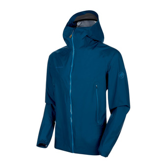 Mammut MASAO LIGHT HS - Jacket - Men's - poseidon