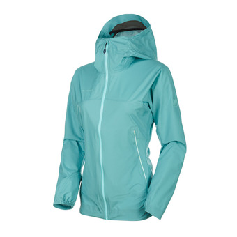 Mammut MASAO LIGHT HS - Chaqueta mujer waters