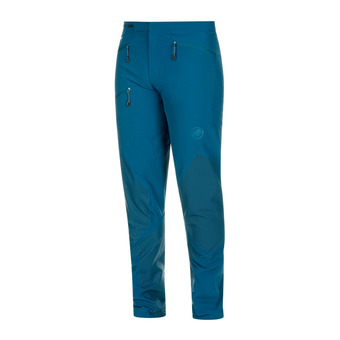 Mammut COURMAYEUR SO - Pants - Men's - poseidon