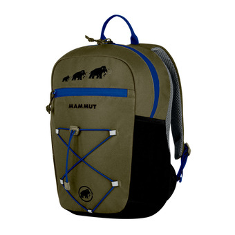 Mammut FIRST ZIP 8L - Mochila Junior olive/black