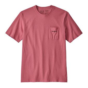 Tee-shirt MC homme LINE LOGO RESP sticker pink