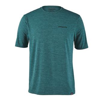Tee-shirt MC homme CAP COOL DAILY GRAPHIC tasmanian teal x-dye