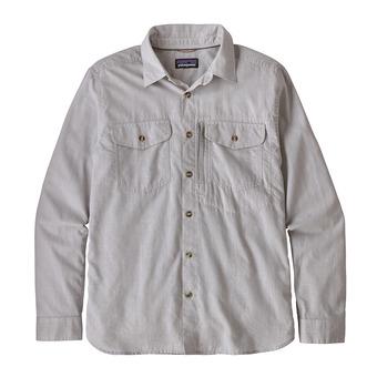 Camisa hombre CAYO LARGO II feather grey