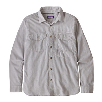 Patagonia CAYO LARGO II - Camicia Uomo feather grey
