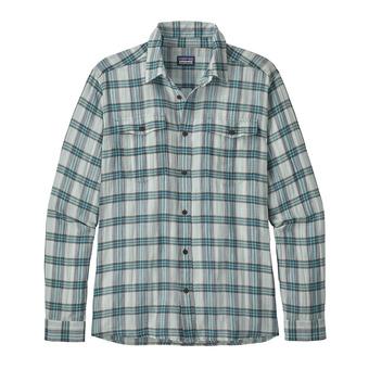 Camisa hombre STEERSMAN boondocks: dam blue