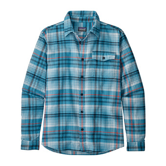 Patagonia LW FJORD FLANNEL - Camisa hombre break up blue