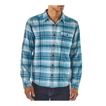 M's LW Fjord Flannel Shirt Homme Turf: Break Up Blue