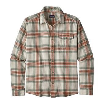 Camisa hombre LW FJORD FLANNEL white/celadon