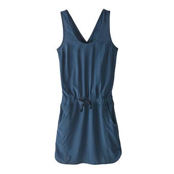 Patagonia FLEETWITH - Vestido mujer stone blue