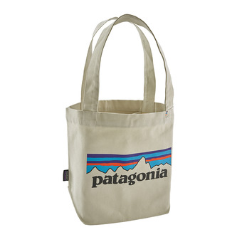 Patagonia P-6 LOGO - Bolso bleached stone