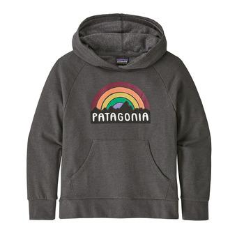 Patagonia FITZ ROY RAINBOW - Felpa Junior forge grey
