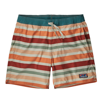 Patagonia STRETCH WAVEFAFER - Bañador hombre water ribbons/new adobe