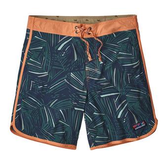 Boardshort hombre HEM STRETCH WAVEFARER rain fern mulit/tasmanian teal