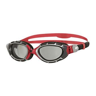 Zoggs PREDATOR FLEX REACTOR - Lunettes de natation polarisées grey/black/red
