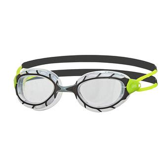 Zoggs PREDATOR - Lunettes de natation black/lime/clear