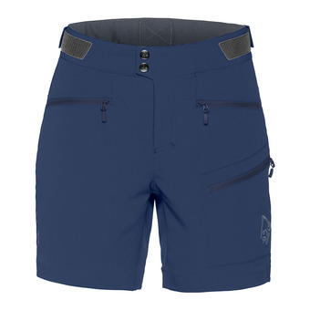 Shorts - Women's - FALKETIND FLEX™1 indigo night