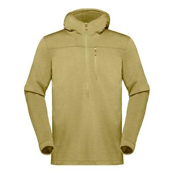 Hoodie - Men's - SVALBARD WOOL olive drab