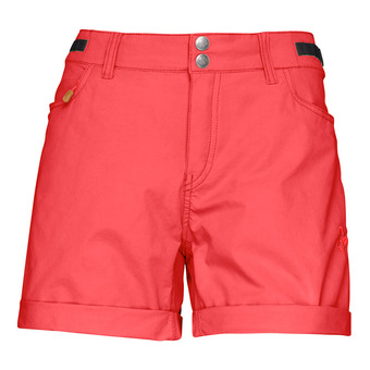 Shorts - Women's - SVALBARD LIGHT COTTON crips ruby