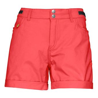 svalbard Light cotton shorts Crisp Ruby Femme Crisp Ruby