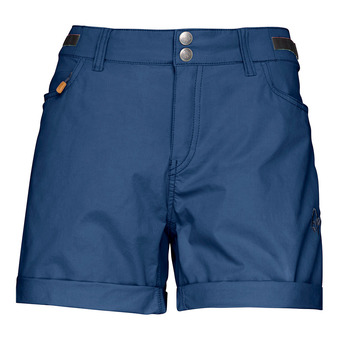 Norrona SVALBARD LIGHT COTTON - Short mujer indigo night