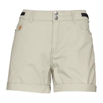 svalbard Light cotton shorts Sandstone Femme Sandstone