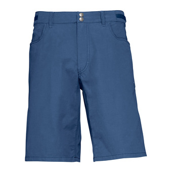 Norrona SVALBARD LIGHT COTTON - Short hombre indigo night