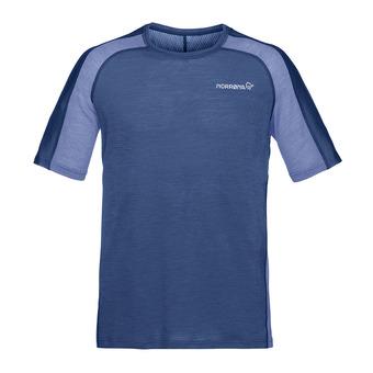 bitihorn wool T-shirt Indigo Night Homme Indigo Night