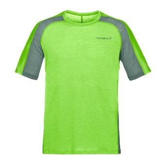 bitihorn wool T-shirt Bamboo Green Homme Bamboo Green