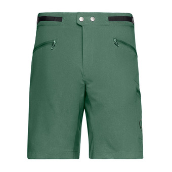Norrona BITIHORN FLEX - Short hombre jungle green