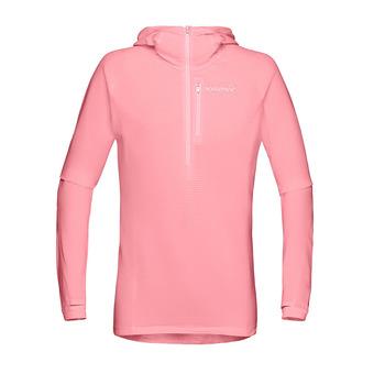 Norrona BITIHORN WARM1 - Polar mujer geranium pink