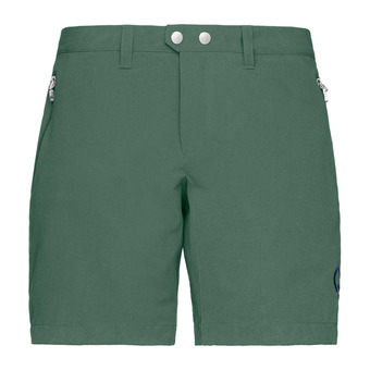 Norrona BITIHORN FLEX1 - Short mujer jungle green