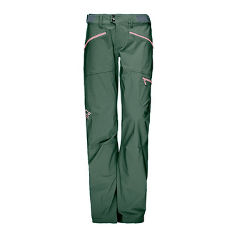 Pantalón mujer FALKETIND FLEX™1 jungle green