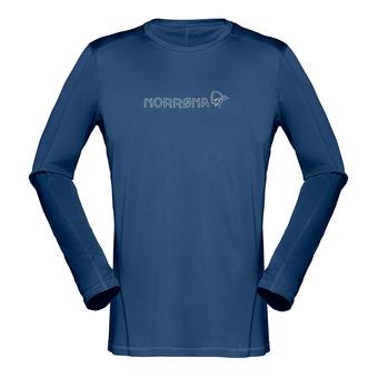 29 Tech Long sleeve shirt Indigo Night Homme Indigo Night