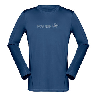 Tee-shirt ML homme /29 TECH indigo night