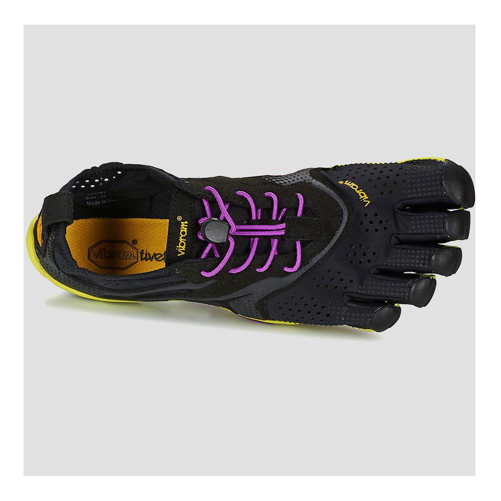 Femme Chaussures Run Noirjauneviolet V Five Running Fingers zpMGLSUVq