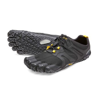 Five Fingers V-TRAIL 2.0 - Chaussures trail Homme noir/jaune