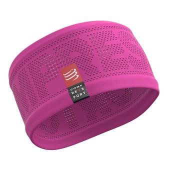Compressport ON/OFF - Cinta deportiva mujer pink