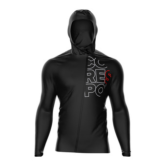 Compressport HURICANE - Jacket - Men's - black