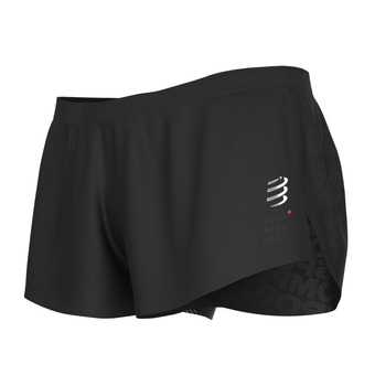 Compressport RACING SPLIT - Shorts - Men's - black