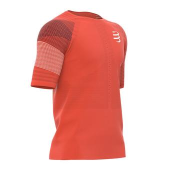 Compressport RACING - Camiseta hombre orange sang