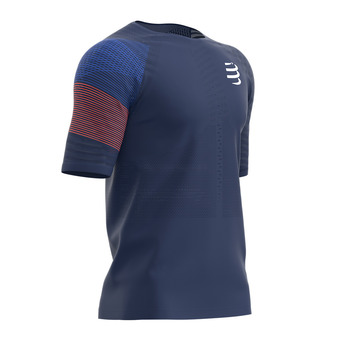 Compressport RACING - Camiseta hombre blue
