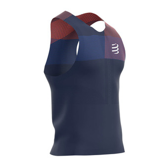 Compressport PRORACING - Maillot Homme blue